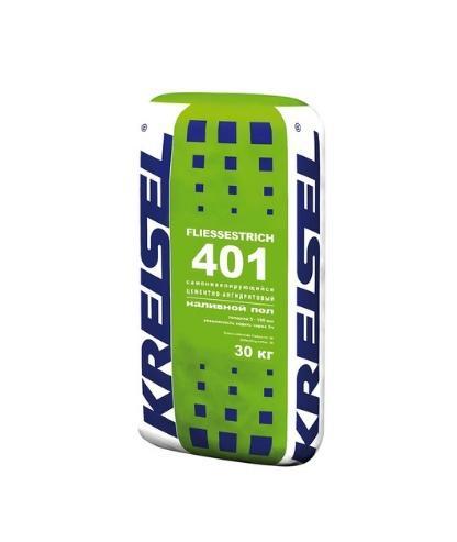 Kreisel (Германия) Самонивелирующийся цементно-ангидритовый наливной пол Kreisel Fliessestrich 401 5-100 мм