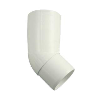 Marley (Германия) Отвод трубы Marley белый, 105 мм, 45 гр